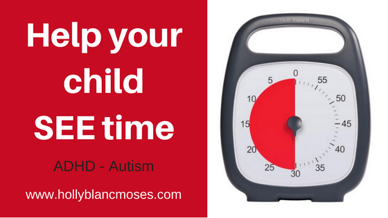 Help your child SEE time! Autism – ADHD – Anxiety